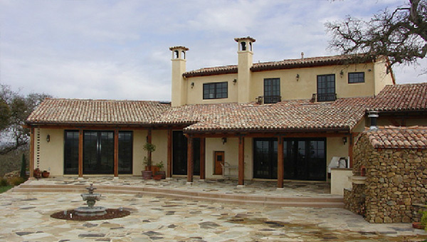 Exterior Home Stucco Painting